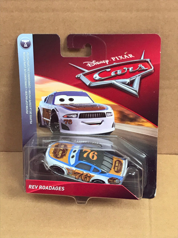 DISNEY CARS 3 DIECAST - Rev Roadages aka Vinyl Toupee