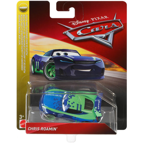 DISNEY CARS 3 DIECAST - Chris Roamin Next Generation Combustr