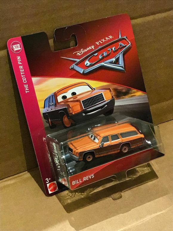Disney Cars 3 Diecast Bill Revs Gemdans