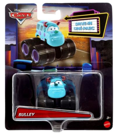 DISNEY CARS DIECAST Pixar Drive-In Series - Sulley