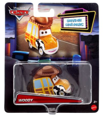 DISNEY CARS DIECAST Pixar Drive-In Series - Woody
