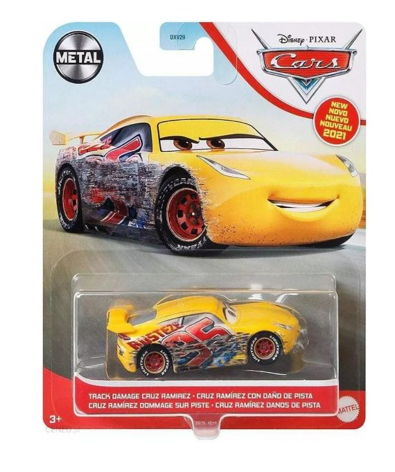 DISNEY CARS DIECAST - Track Damage Cruz Ramirez