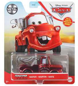 DISNEY CARS DIECAST - Racing Red Mater