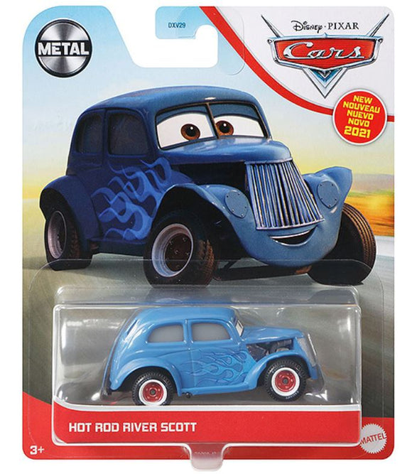 DISNEY CARS 3 DIECAST - Hot Rod River Scott