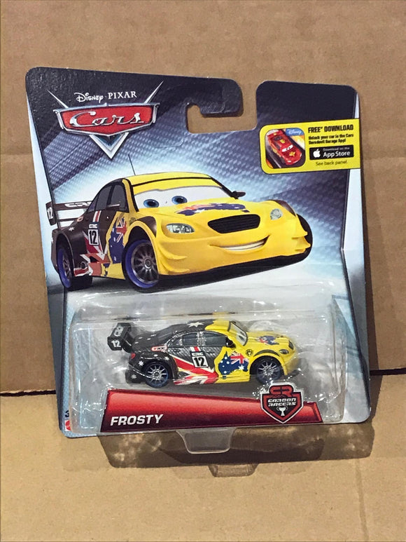 DISNEY CARS DIECAST - Special Edition Frosty Carbon Racer