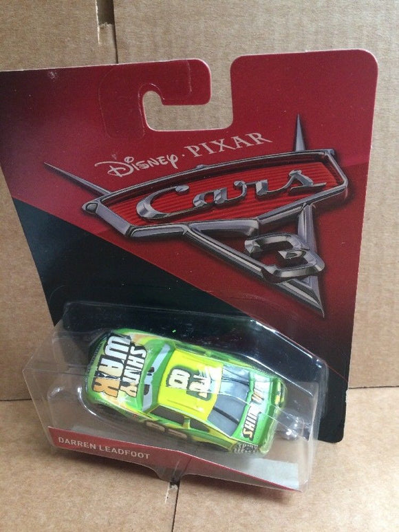 DISNEY CARS 3 DIECAST - Darren Leadfoot aka Shiny Wax