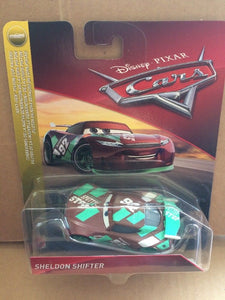 DISNEY CARS 3 DIECAST - Sheldon Shifter Next Generation Sputter Stop