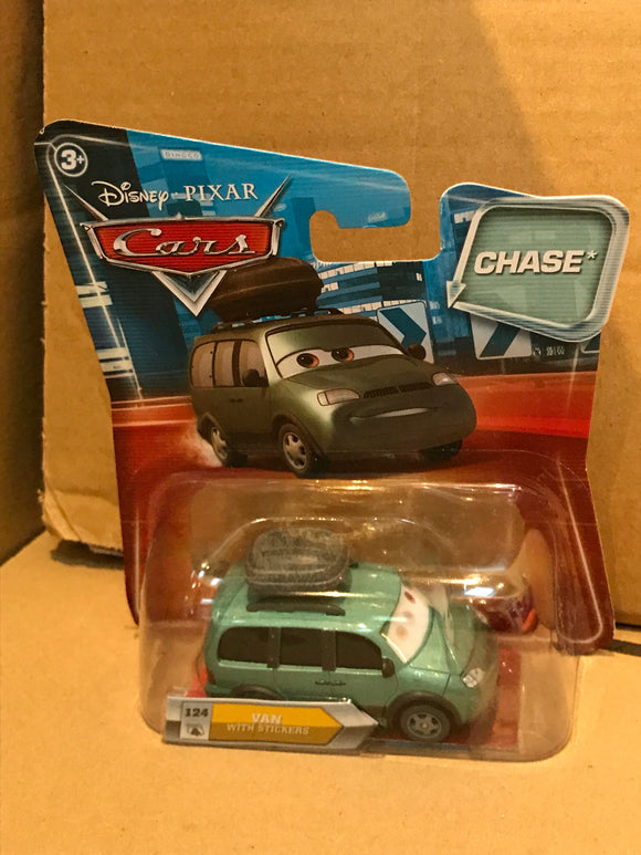 DISNEY CARS DIECAST - Van with stickers