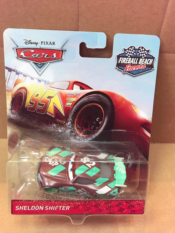 DISNEY CARS 3 DIECAST - Fireball Beach Racers - Sheldon Shifter