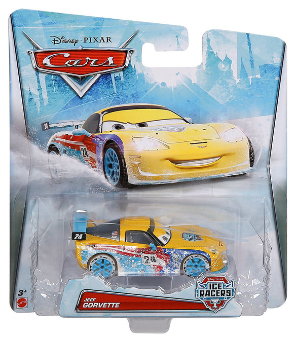 DISNEY CARS DIECAST - Jeff Gorvette Ice Racer
