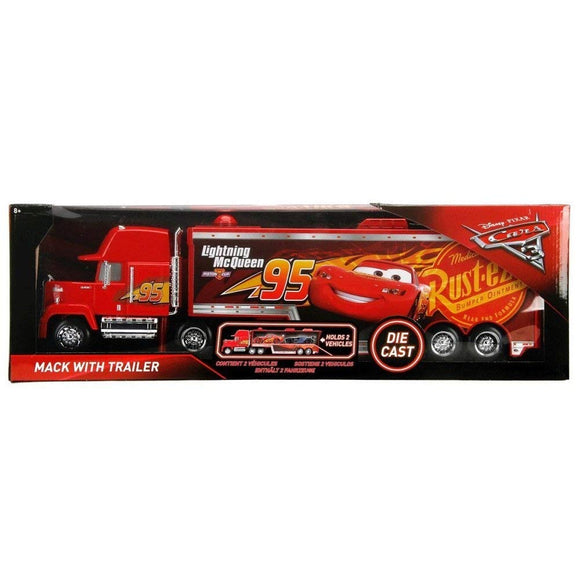 DISNEY CARS JADA DIECAST - Mack with Trailer