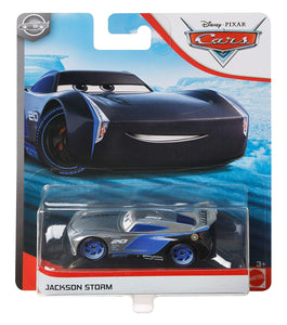 DISNEY CARS DIECAST - Silver Collection Jackson Storm