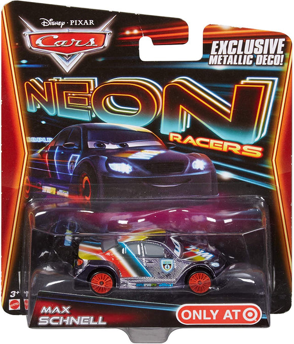 DISNEY CARS DIECAST - Max Schnell - Neon Racers