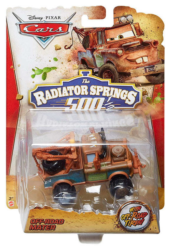 DISNEY CARS DIECAST RS500 - Off-Road Mater Radiator Springs 500 1/2