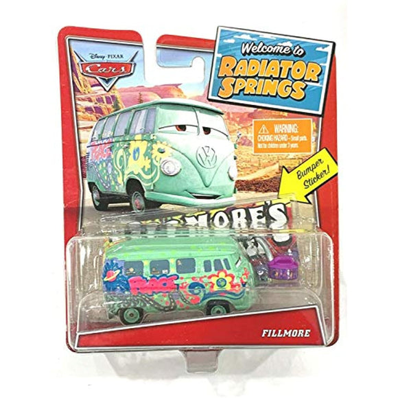 DISNEY CARS DIECAST - Welcome to Radiator Springs Fillmore