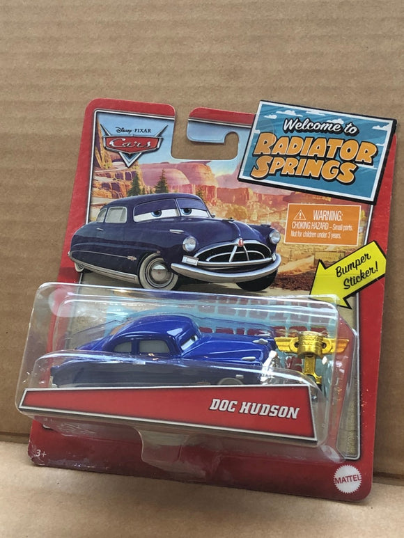 DISNEY CARS DIECAST - Welcome to Radiator Springs Doc Hudson