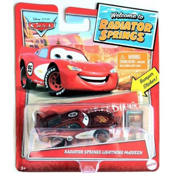 DISNEY CARS DIECAST - Welcome to Radiator Springs Lightning McQueen