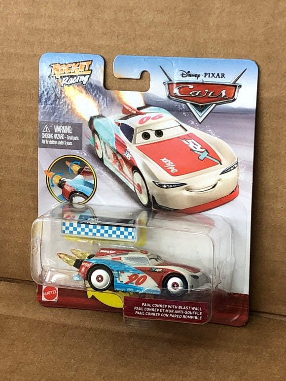 DISNEY CARS DIECAST - XRS Rocket Racing Paul Conrev