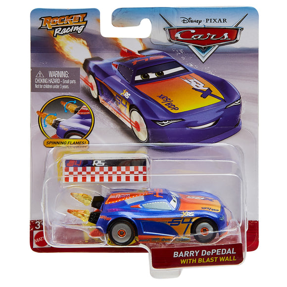 DISNEY CARS DIECAST - XRS Rocket Racing Barry DePedal