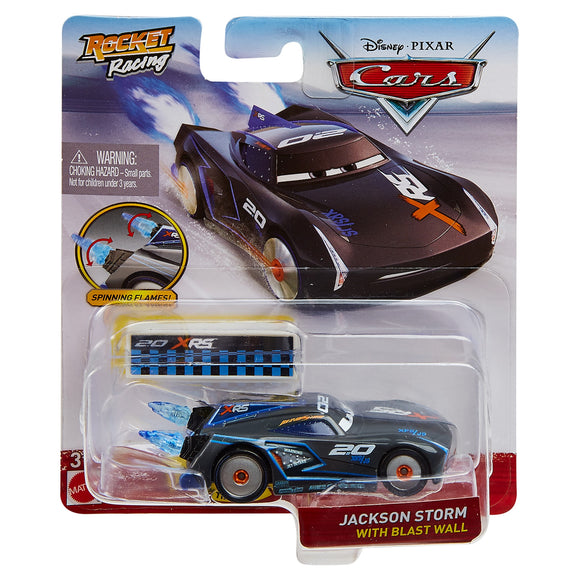 DISNEY CARS DIECAST - XRS Rocket Racing Jackson Storm