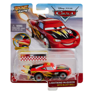 DISNEY CARS DIECAST - XRS Rocket Racing Lightning McQueen