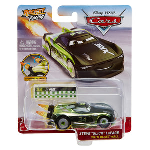 DISNEY CARS DIECAST - XRS Rocket Racing Steve Slick LaPage