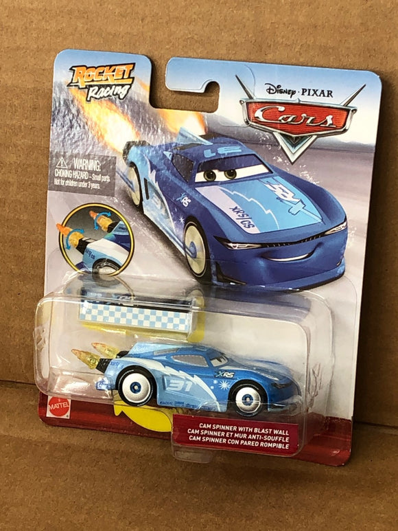 DISNEY CARS DIECAST - XRS Rocket Racing Cam Spinner