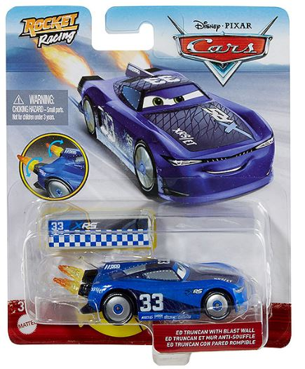 DISNEY CARS DIECAST - XRS Rocket Racing Ed Truncan