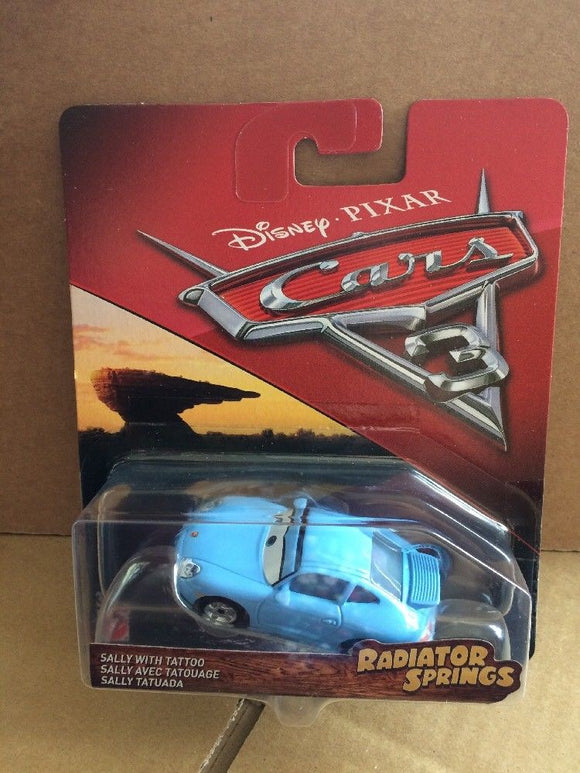 DISNEY CARS DIECAST - Radiator Springs Classic Sally with Tattoo