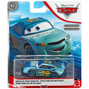 DISNEY CARS DIECAST - Scavenger Hunt Special Metallic Ryan Shields