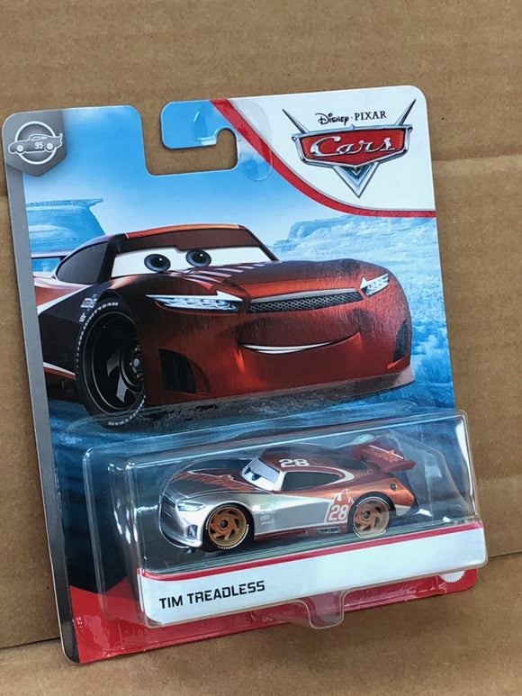DISNEY CARS DIECAST - Silver Collection Tim Treadless