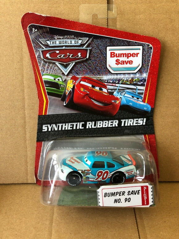 DISNEY CARS DIECAST - Bumper Save with Synthetic Rubber Tires