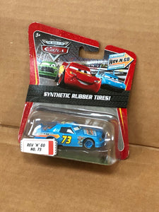 DISNEY CARS DIECAST - Rev N Go No. 73 with Synthetic Rubber Tires