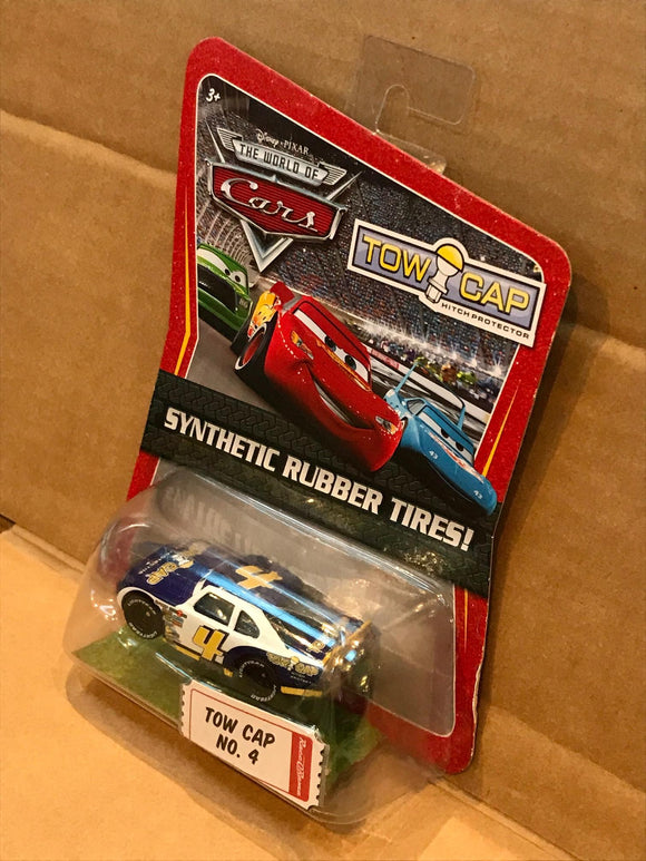 DISNEY CARS DIECAST - Tow Cap No. 4 with Synthetic Rubber Tires