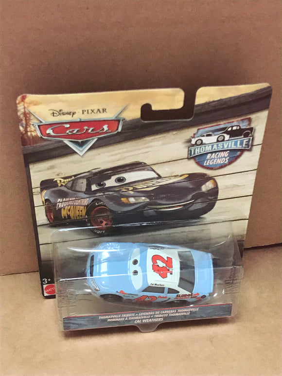 DISNEY CARS 3 DIECAST - Thomasville Racing Legends Cal Weathers