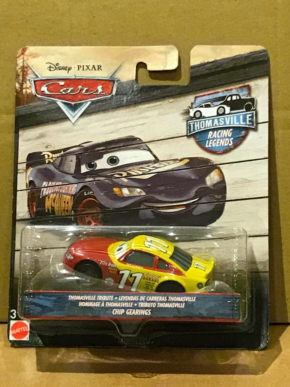 DISNEY CARS 3 DIECAST - Thomasville Racing Legends Chip Gearings