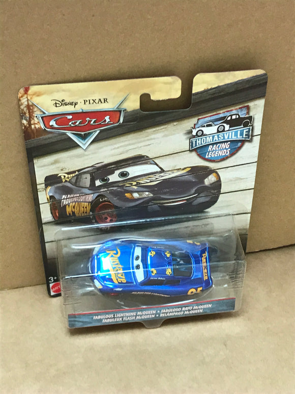 DISNEY CARS 3 DIECAST - Thomasville Racing Legends Fabulous Lightning McQueen