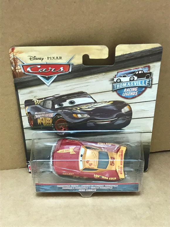 DISNEY CARS 3 DIECAST - Thomasville Racing Legends Herb Curbler