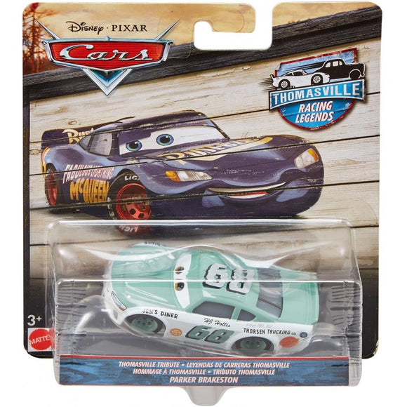 DISNEY CARS 3 DIECAST - Thomasville Racing Legends Parker Brakeston