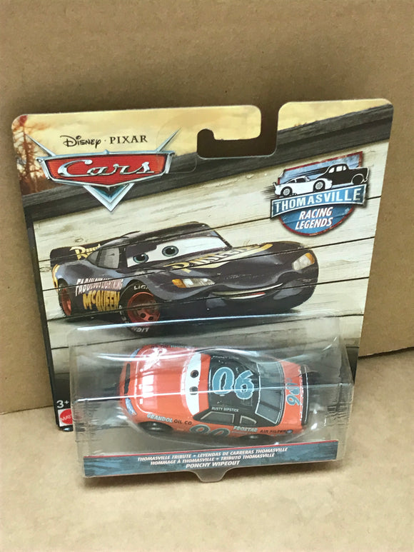 DISNEY CARS 3 DIECAST - Thomasville Racing Legends Ponchy Wipeout