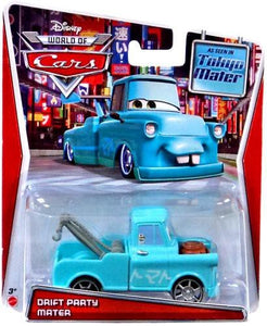 DISNEY CARS TOON DIECAST - Drift Party Mater from Tokyo Mater