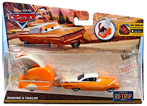 DISNEY CARS DIECAST - Road Trip Ramone and Trailer