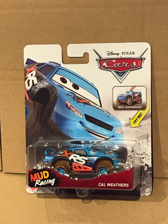 DISNEY CARS DIECAST XTREME Racing Series (XRS) - Cal Weathers