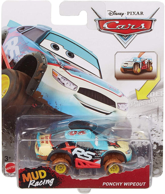 DISNEY CARS DIECAST XTREME Racing Series (XRS) - Ponchy Wipeout