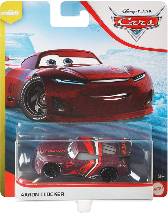 DISNEY CARS 3 DIECAST - Aaron Clocker