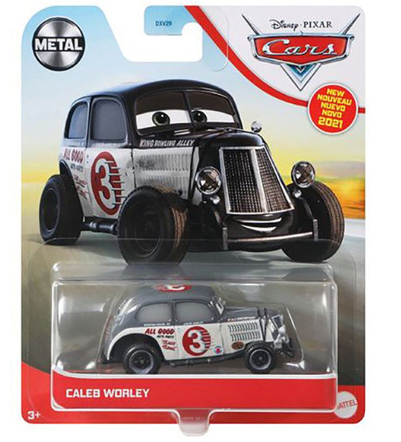 DISNEY CARS 3 DIECAST - Caleb Worley