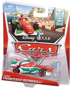 DISNEY CARS 2 DIECAST - Super Chase Ciao Francesco Bernoulli
