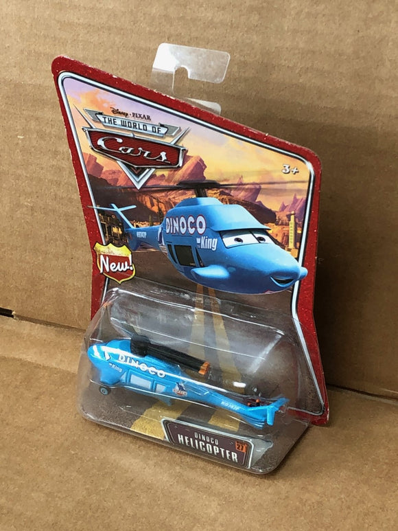 DISNEY CARS DIECAST - Dinoco Helicopter