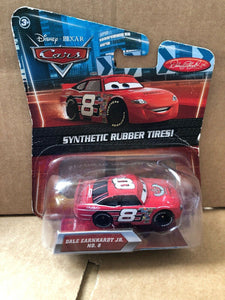 DISNEY CARS DIECAST - Dale Earnhardt Jr with rubber tires