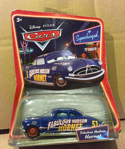 DISNEY CARS DIECAST - Fabulous Hudson Hornet with Red Wheels